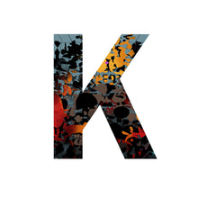 Load image into Gallery viewer, 'WILD K' From the Wild Alphabet.