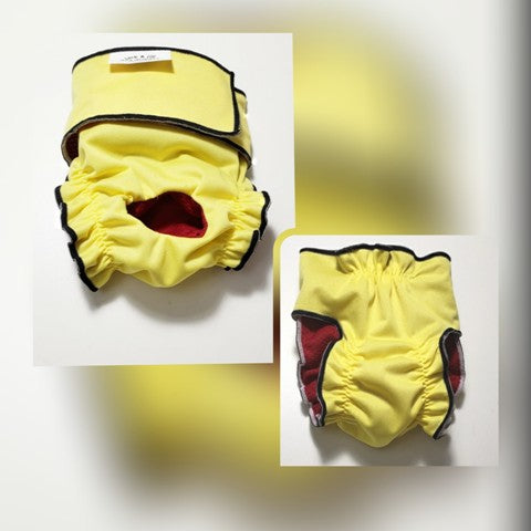 Female Dog Diaper – Lemon