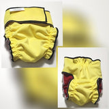 Female Dog Diaper  Without Tail Opening – Lemon