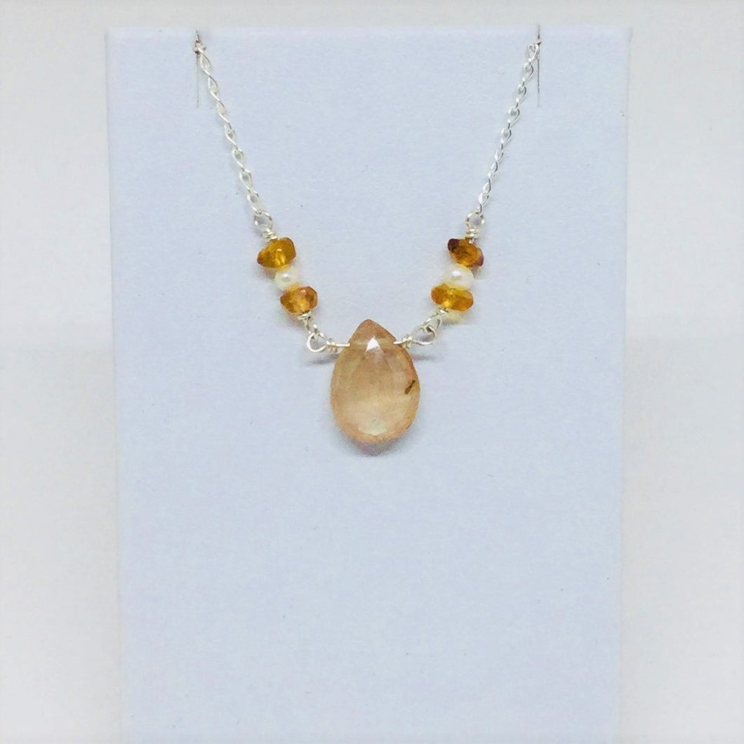 Natural Topaz Necklace