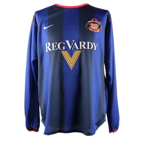 Sunderland player issued long sleeve away 2001/2002 season