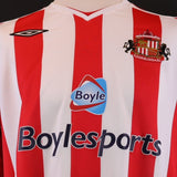 Sunderland short sleeve home Shirt 2007/2008 season *XL*
