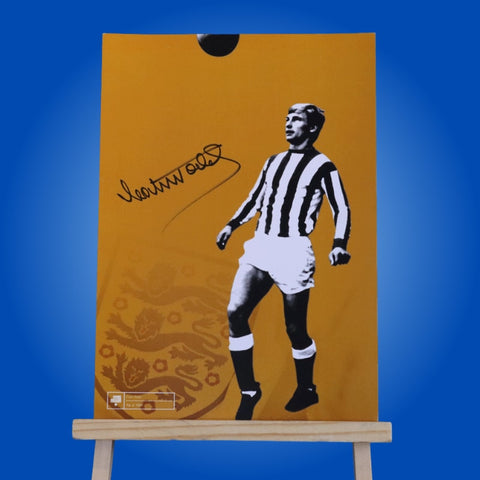Colin Todd Signed A4 Print