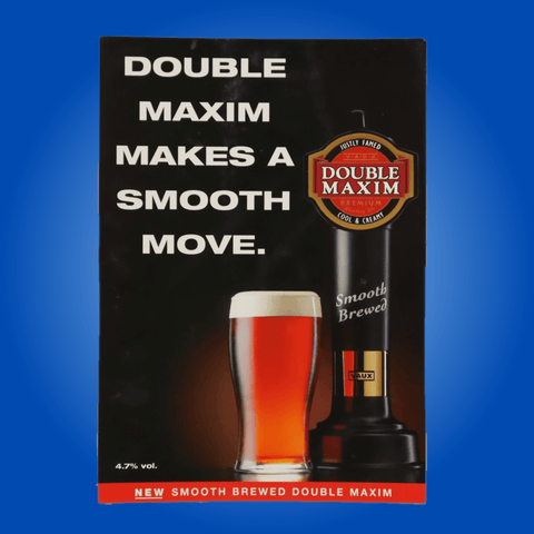 VAUX Double Maxim A4 Marketing Display Board
