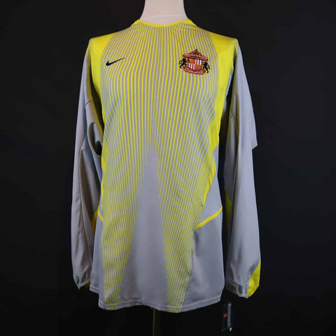 RARE Player Issue Sunderland Goalkeeper Shirt 2002-2003