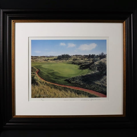 Framed Royal Birkdale Golf Course Picture