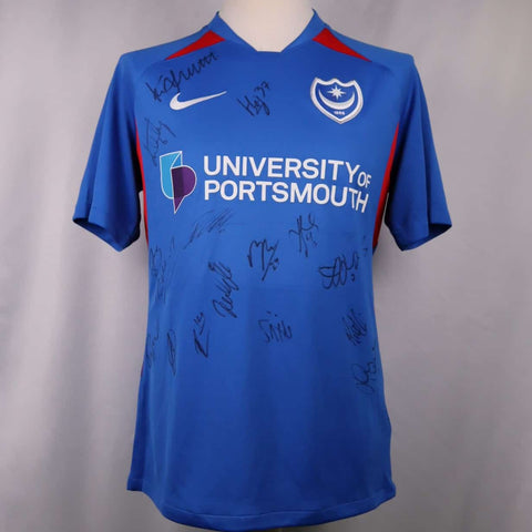 Portsmouth Home 2019-2020 Shirt *SIGNED*