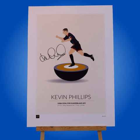Limited Edition Kevin Phillips Signed A3 Print 2