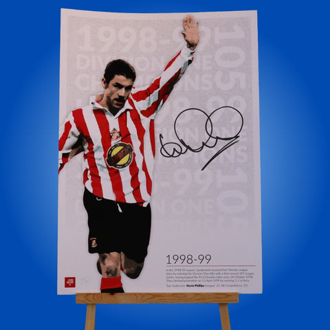 Kevin Phillips Signed A3 Print 5