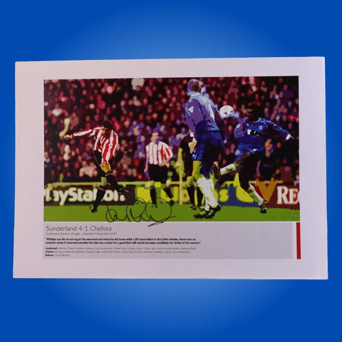 Kevin Phillips Signed A3 Print 7