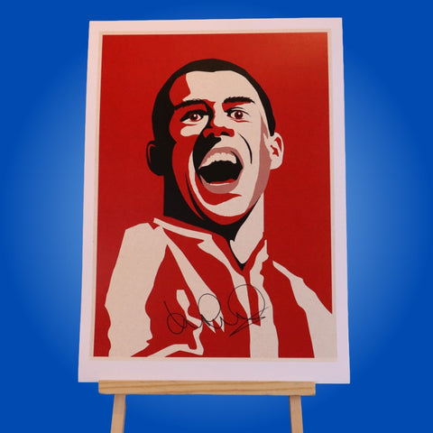 Kevin Phillips Signed A3 Print 3