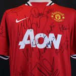 Manchester United Charity Game Home Shirt 2011-2012 Shirt *SIGNED*