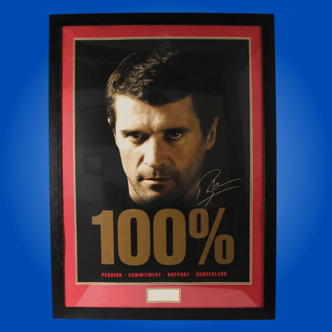 Framed Poster of Roy Keane
