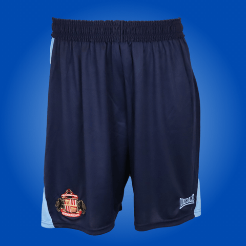 Sunderland Player Issue Light/Dark Blue Lonsdale Training Shorts