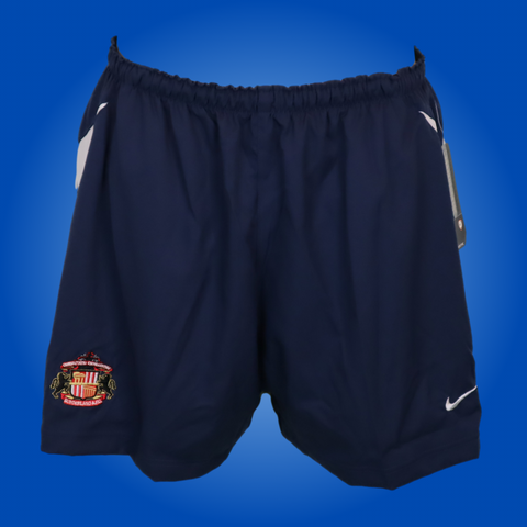 Sunderland Player Issued Dark Blue Nike Training Shorts