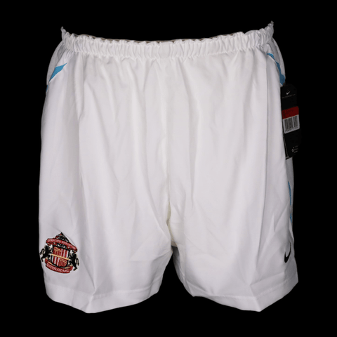 Sunderland Player Issue White Nike Training Shorts