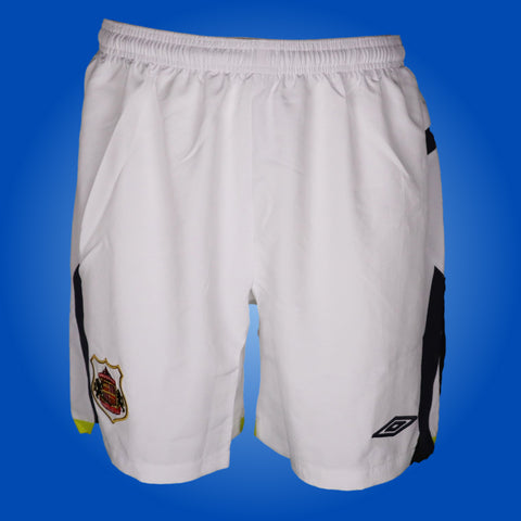 Vintage Sunderland Player Issue White Umbro Shorts