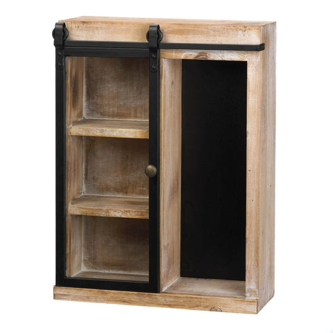 Replace manufactured bathroom cabinets with polished or painted wooden cabinets or display units