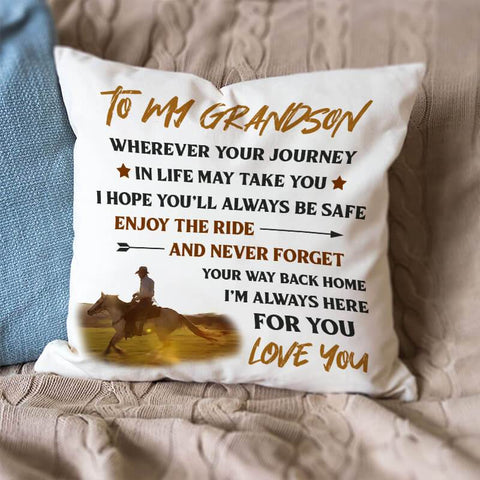 Engraved Pillow Cover