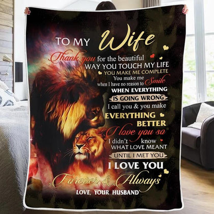 Engraved Fleece Blanket