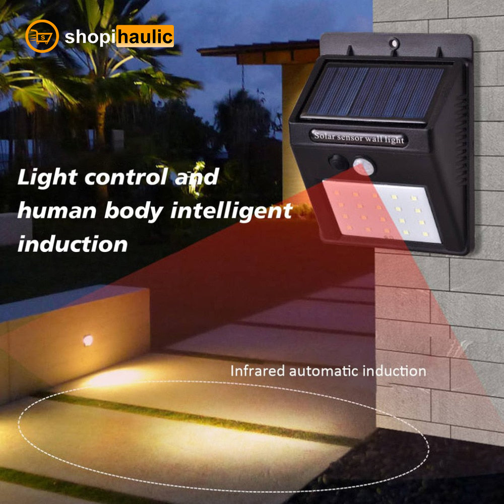🔥 LED Security Solar Outdoor Waterproof Lamp 🔥