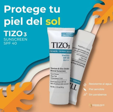 TIZO3® PRIMER / SUNSCREEN TINTED SPF 40