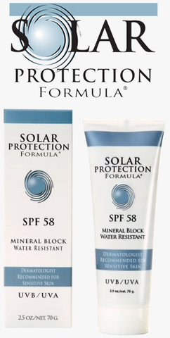 Solar Protection Formula SPF 58 Mineral Block Water Resistant
