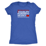 No Politics In - Womens Tee