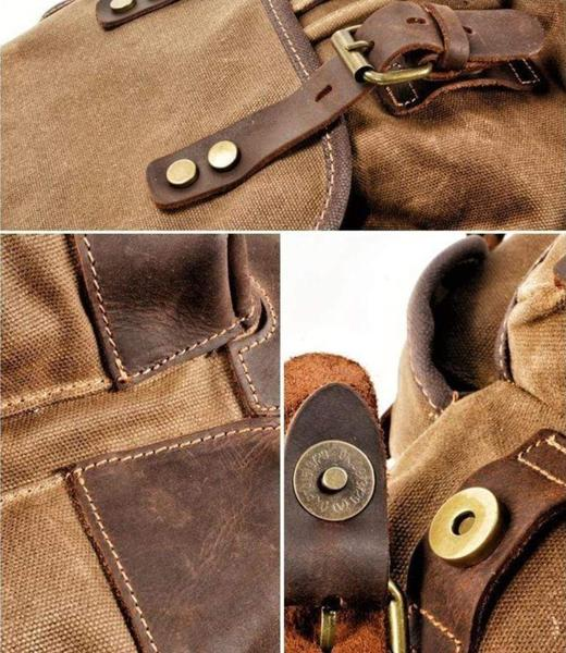 Waterproof Leather Backpack Materials