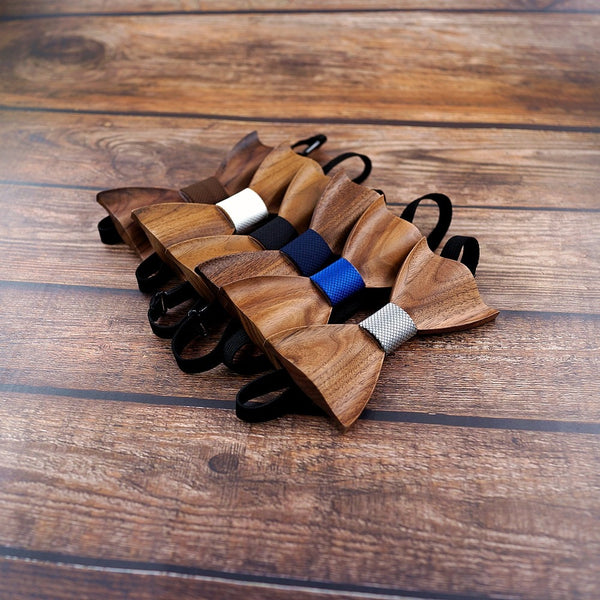 Wood Bow Tie Wooden Bow Tie