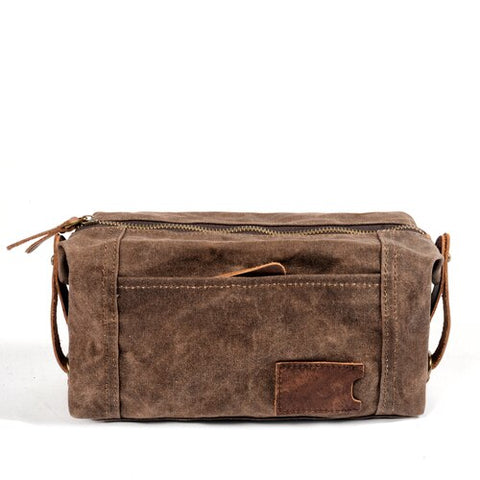 Leather Toiletry Bag - Gentcreate