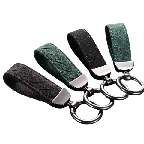 Alcantara Car Key Chain - Gentcreate