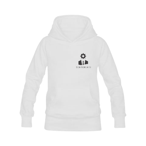 "Men's Classic White Hoodie ""Samuel Beckett"" - Gentcreate"