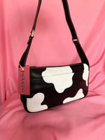 Load image into Gallery viewer, the 90's cow print bag
