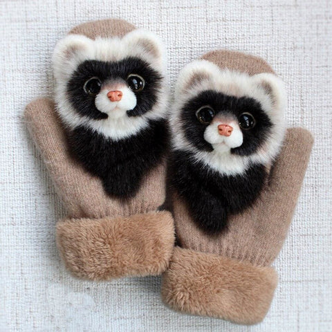 Racoon Gloves