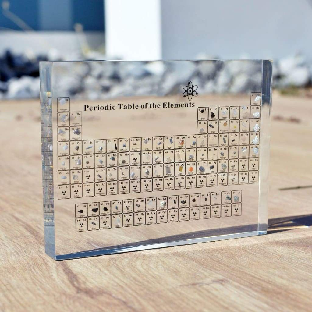 Atomium™ - The Periodic Table With Real Elements (Limited