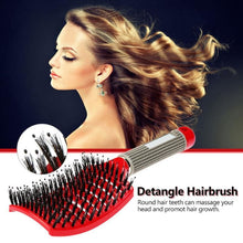Load image into Gallery viewer, GlideThru™ - The Gentle & Effortless Detangling Hairbrush -
