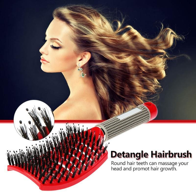 GlideThru™ - The Gentle & Effortless Detangling Hairbrush -