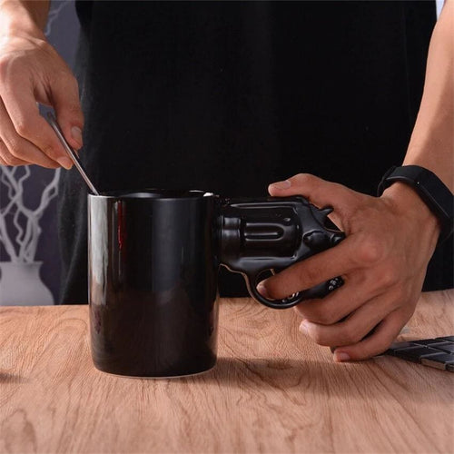 Gunman™ Mug - The Illegally Cool Coffee Mug - GunMug