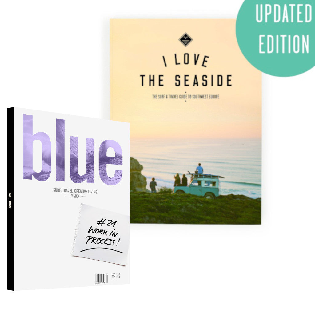 Blue Yearbook 2021 & I Love the Seaside Guide to Southwest Europe