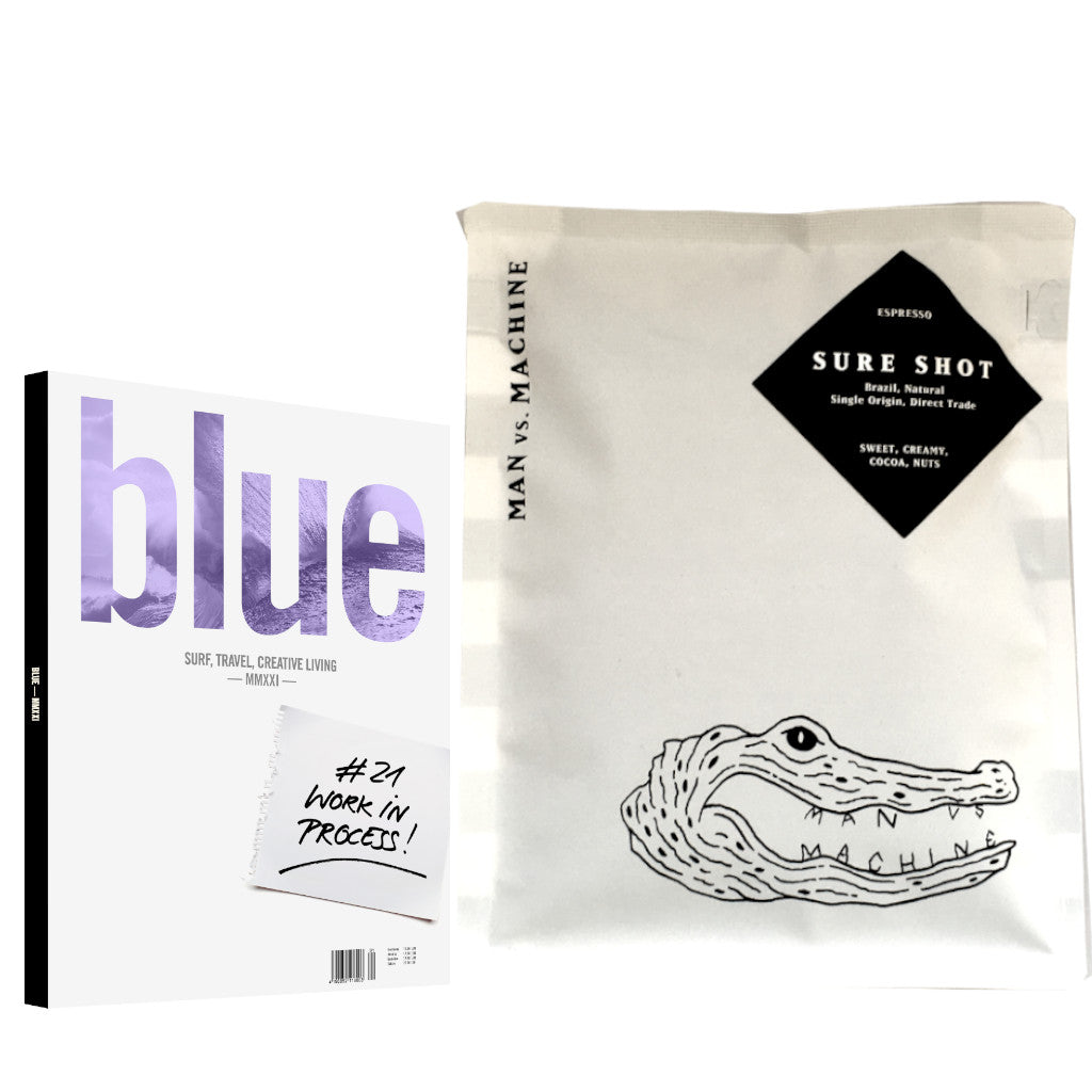 Blue Yearbook 2021 & MVSM Sure Shot Seasonal Espresso