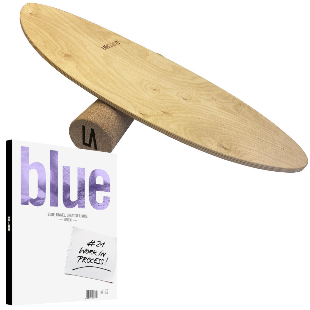 Blue Yearbook 2021 & Langbrett Surf Trainer