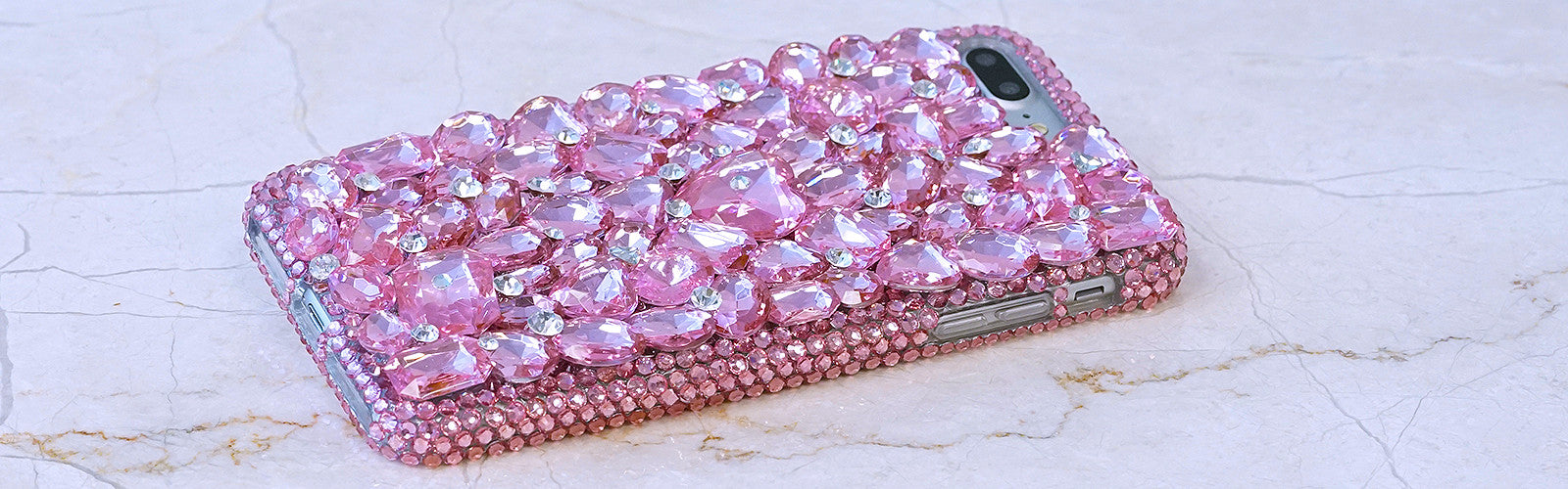 iphone 7 PLUS pink bling case