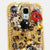Golden Leopard Bow Design case made for Samsung Galaxy S4