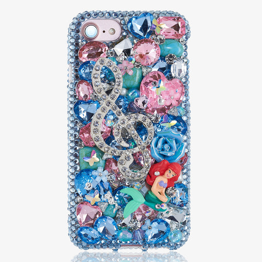 Under the Sea Mermaid and Shell Design iphone 7 case