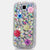 Plain AB Crystals Posies Design case made for Samsung Galaxy S4