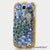 Blue and Brass Peacock Design case made for Samsung Galaxy S4