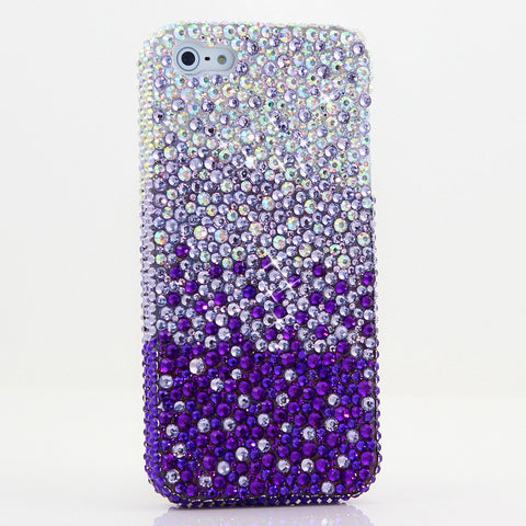 AB Crystals Fades to Purple Design (style 914)