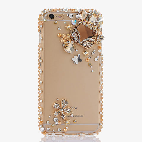 Diamond Purse crystals bling iphone 7 case
