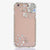 Snow Flakes Design bling crystal case for iphone 6 Plus